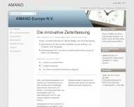Bild AMANO Electronics Europe N.V. Zeiterfassungssysteme