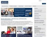 Bild Webseite Bavaria Zeitsysteme - Ges. für Integrierte Zeit- und Zutrittslösungen München