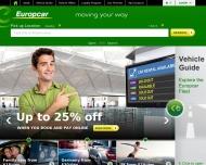 Bild Webseite Europcar Autovermietung Wedel