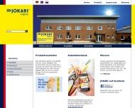 Bild Webseite Jokari-krampe Ascheberg