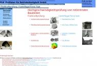 Bild PLB Prüflabor für Betriebsfestigkeit GmbH