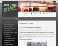 Bild Werbetechnik Kleiner GmbH