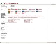 Website Vereinigte Weinkellereien