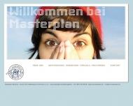 Bild Webseite Masterplan Web-Design München