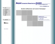 Website Bayer Computer-Pflege/ Service