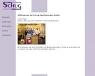 Bild Webseite Schug Meckenheim