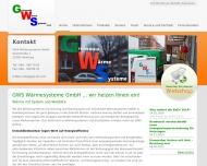 Bild GWS Wärmesysteme GmbH