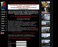 Bild Webseite Tncp Vertriebs Hamburg