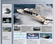 Bild Webseite TARGA Yachten Vertriebsges. Hamburg