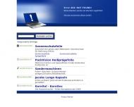Bild Webseite Retronic Vertriebs Hamburg