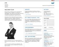 Bild Webseite IAP Ingenieurbüro für Anwendung Programmierung Hamburg