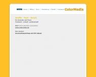 Bild Webseite Colormedia Hamburg
