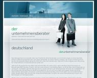Bild Webseite Hennicke Neufeldt & Partner Vertriebs- und Projektführungs Hamburg
