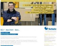 Bild Webseite Scholz Versand Service Osnabrück