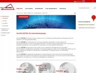 Website GEO-METRIK-Ingenieurgesellschaft