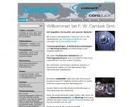 Bild Webseite F.W. Carduck Gesellschaft Aachen