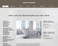 Bild Hallesche Badgalerie Bäder und Wärme GmbH