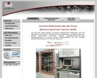 Bild Webseite EES Euro-Electronic-Service Nürnberg
