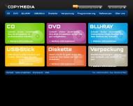 Website CopyMedia Dienstleistung  und Maschinen-Vertriebs