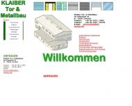 Bild Klaiber Tor- u. Metallbau OHG