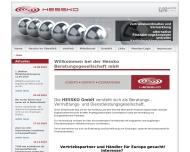 Bild Webseite HESSKO Berlin