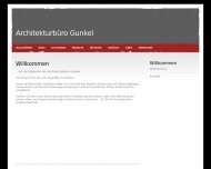 Website Architekturbüro Gunkel