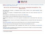Website Geilfus Immobilien, Frank Geilfus M. A.