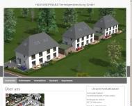 Website Hausundfinanz Vermögensberatung
