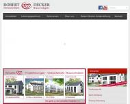 Bild Robert Decker Wohn- und Gewerbebau GmbH