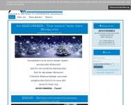 Bild Webseite Assicuranza Buch