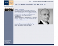 Website Rechtsanwalt Oliver Gothe-Syren – Kanzlei  LEGITAS GOTHE-SYREN