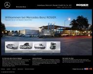 Bild Webseite Mercedes-Benz Goslar