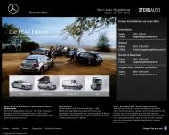 Bild Webseite Mercedes / DaimlerChrysler Vertriebsges. Magdeburg