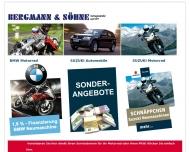 Bild Webseite Bergmann & Söhne Tornesch