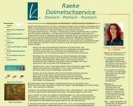 Bild Raeke Dolmetschservice Deutsch, Polnisch, Russisch