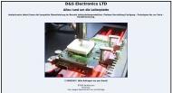 Website D&S Electronics - Alles rund um die Leiterplatte