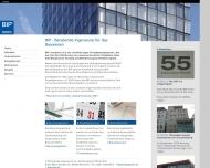 Website BIP Beratende Ingenieure für das Bauwesen VBI