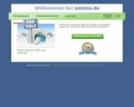 Bild Webseite Seriosa Immobilien Klaus Manzel Berlin