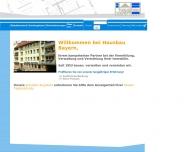 Website HAUSBAU BAYERN
