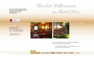 Bild Webseite Hotel Petri München