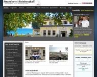Strandhotel Steinberghaff - Strandhotel direkt an der Ostsee mit wunderschoenen Blick auf die Geltin...