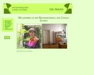 Bild Webseite Schork Carola Heilpraktikerin München