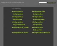 Bild Webseite Achim Becker Düsseldorf