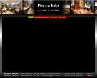 Website Piccola Italia Ristorante Pizzeria