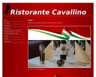 Bild Webseite Ristorante Cavallino Berlin