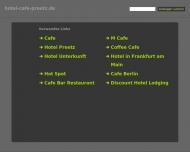 Bild Webseite Preetzer Cafestuben Postfeld