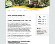 Bild Webseite Gartenlokal Alte Baumschule Berlin