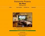 Bild Webseite Da Pino München