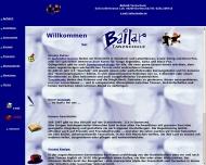 Bild Webseite Bailar Dortmund