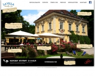 Website La Villa im Bamberger Haus